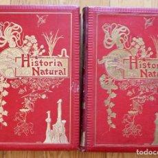 Libros antiguos: HISTORIA NATURAL POR ODON DE BUEN. 2 TOMOS. EDITORIAL MANUEL SOLER 1897. OBRA MUY ILUSTRADA.. Lote 93656310