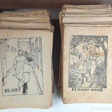 Libros antiguos: COL-LECCIÓ EN PATUFET. 189 EJEMPLARES. VER DESCRIPCIÓN. VARIOS AUTORES. S/F.. Lote 93676805
