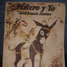 Libros antiguos: , JUAN RAMÓN JIMÉNEZ PLATERO Y YO RARA EDICIÓN CON PORTADA DISTINTA LA HABANA CUBA. Lote 93676815