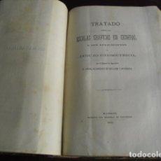 Libros antiguos: 1869 TRATADO SOBRE LAS ESCALAS GRAFICAS EN GENERAL 38 LÁMINAS DESPLEGABLES. Lote 93697625