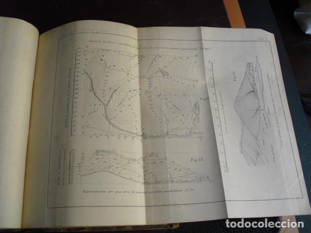 Libros antiguos: 1869 TRATADO SOBRE LAS ESCALAS GRAFICAS EN GENERAL 38 LÁMINAS DESPLEGABLES - Foto 5 - 93697625