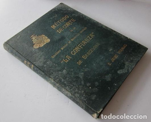 Libros antiguos: METODO DE CORTE DE LA SOCIEDAD MUTUA DE MAESTROS SASTRES LA CONFIANZA DE BARCELONA - Foto 11 - 93702640