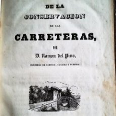 Libros antiguos: DE LA CONSERVACIÓN DE LAS CARRETERAS. 1841.. Lote 93710285