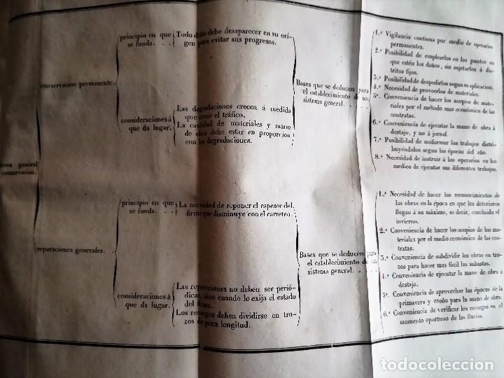 Libros antiguos: DE LA CONSERVACIÓN DE LAS CARRETERAS. 1841. - Foto 4 - 93710285
