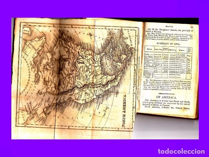 Libros antiguos: GOLDSMITH`S GRAMMAR OF GEOGRAPHY 1820 - Foto 2 - 93786640