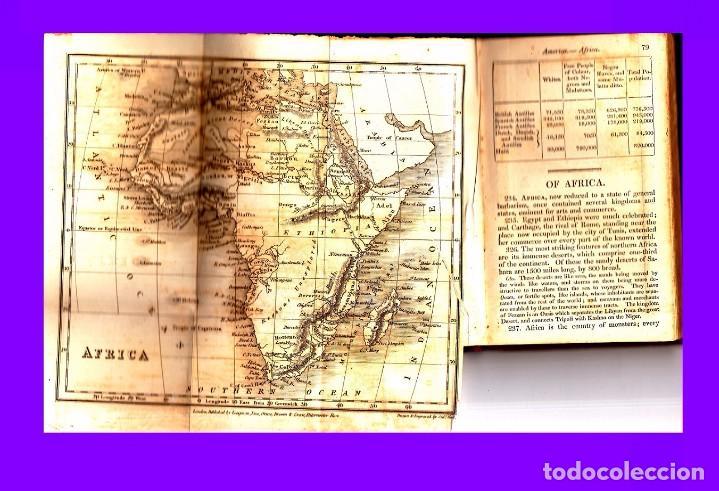 Libros antiguos: GOLDSMITH`S GRAMMAR OF GEOGRAPHY 1820 - Foto 3 - 93786640