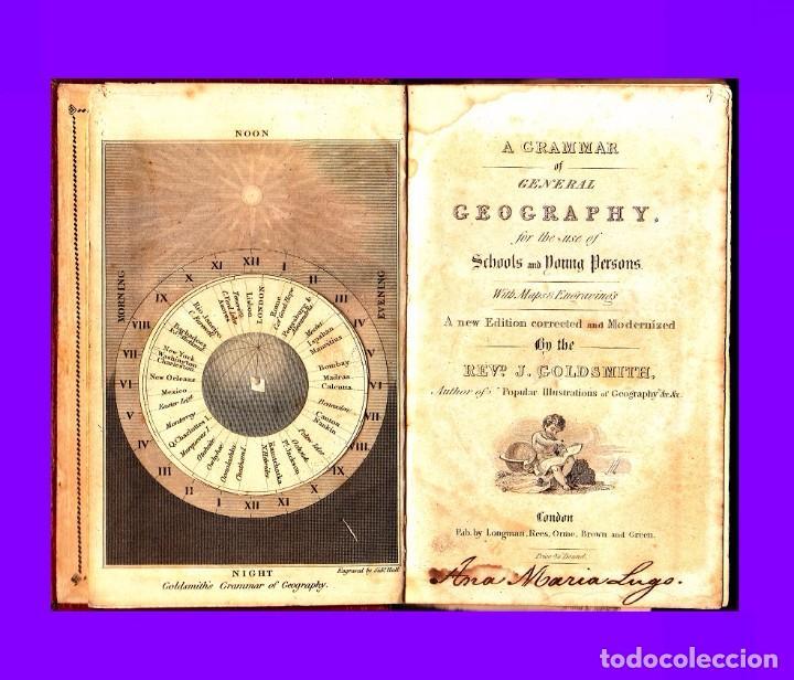 Libros antiguos: GOLDSMITH`S GRAMMAR OF GEOGRAPHY 1820 - Foto 6 - 93786640