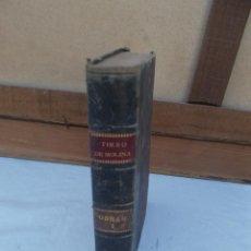 Libros antiguos: LIBRO DEL AÑO 1910 TIRZO DE MOLINA. Lote 93818250