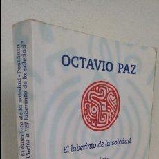 Libros antiguos: EL LABERINTO DE LA SOLEDAD/POSTDATA OCTAVIO PAZ. Lote 93557925