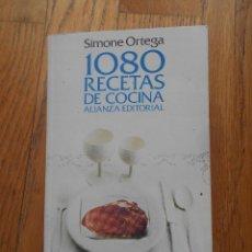 Libros antiguos: 1080 RECETAS DE COCINA, ALIANZA EDITORIAL. Lote 93829160