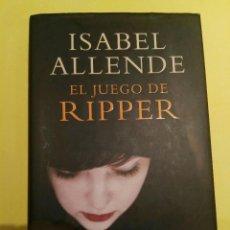 Libros antiguos: LIBRO EL JUEGO DE RIPPER. Lote 93848700
