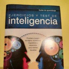 Libros antiguos: LIBRO EJERCICIOS Y TEST DE INTELIGENCIA. Lote 93848715