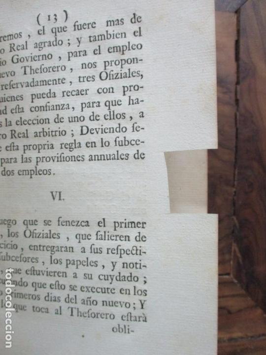 Libros antiguos: REGLAMENTO DE LA FUNDACION, Y ESTABLEZIMIENTO DEL PIO MONTE,..[REINO DE LAS DOS SICILIAS].1753 - Foto 5 - 93999445