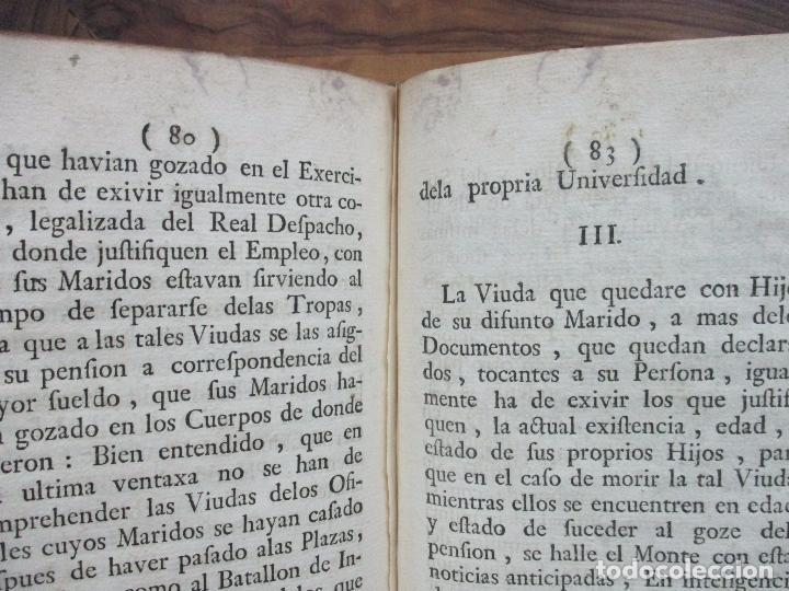 Libros antiguos: REGLAMENTO DE LA FUNDACION, Y ESTABLEZIMIENTO DEL PIO MONTE,..[REINO DE LAS DOS SICILIAS].1753 - Foto 8 - 93999445