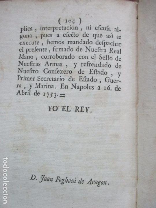 Libros antiguos: REGLAMENTO DE LA FUNDACION, Y ESTABLEZIMIENTO DEL PIO MONTE,..[REINO DE LAS DOS SICILIAS].1753 - Foto 9 - 93999445