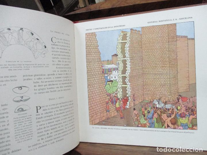 Libros antiguos: FIESTAS Y ESPECTACULOS EN LA ANTIGÜEDAD. CARLOS RIBA. JUAN LAGUÍA. ILUSTR. APA. MUNTAÑOLA, 1920. - Foto 5 - 94042295