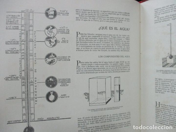 Libros antiguos: EL AGUA Y SUS MARAVILLAS. JAVIER OLÓNDRIZ. ILUSTR. JOAN D'IVORI. MUNTAÑOLA. 1920 - Foto 6 - 94056115