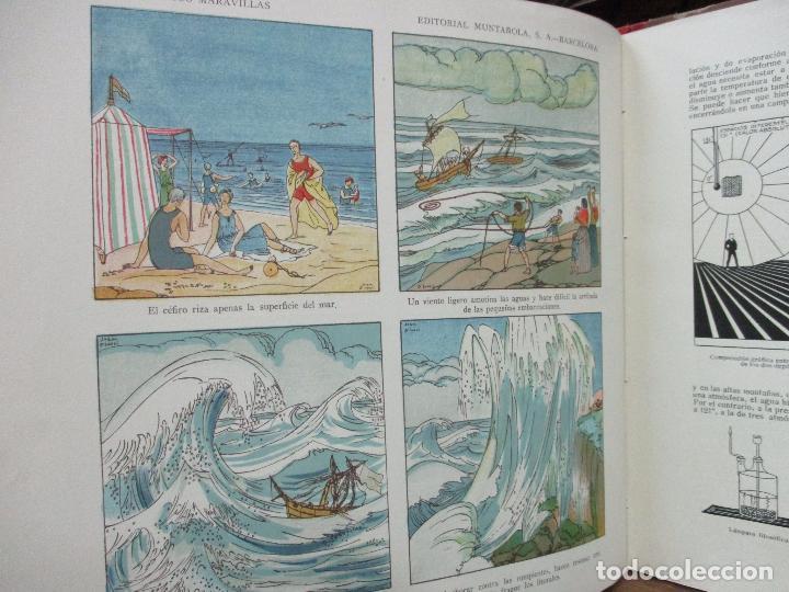 Libros antiguos: EL AGUA Y SUS MARAVILLAS. JAVIER OLÓNDRIZ. ILUSTR. JOAN D'IVORI. MUNTAÑOLA. 1920 - Foto 7 - 94056115