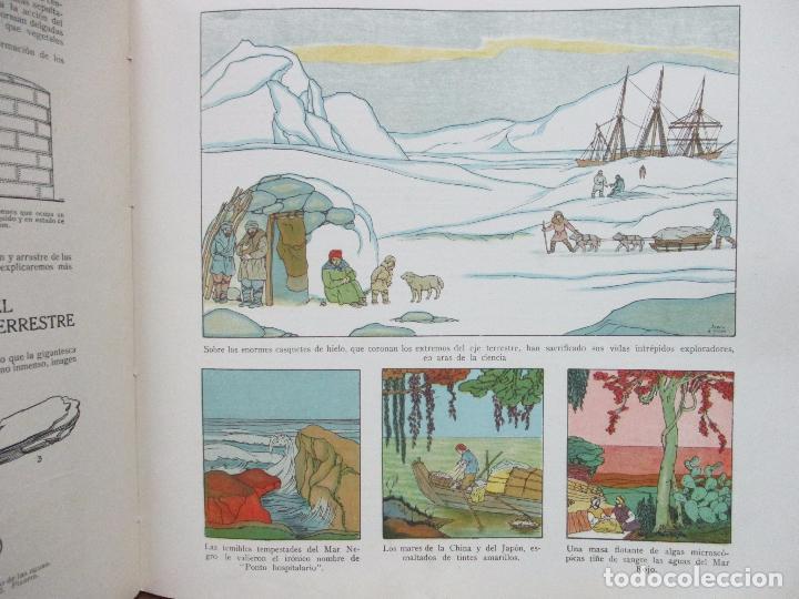 Libros antiguos: EL AGUA Y SUS MARAVILLAS. JAVIER OLÓNDRIZ. ILUSTR. JOAN D'IVORI. MUNTAÑOLA. 1920 - Foto 8 - 94056115