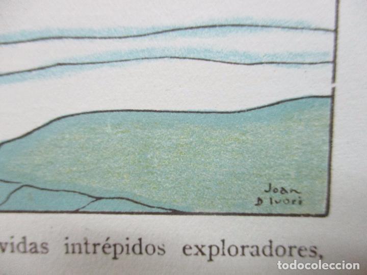 Libros antiguos: EL AGUA Y SUS MARAVILLAS. JAVIER OLÓNDRIZ. ILUSTR. JOAN D'IVORI. MUNTAÑOLA. 1920 - Foto 9 - 94056115