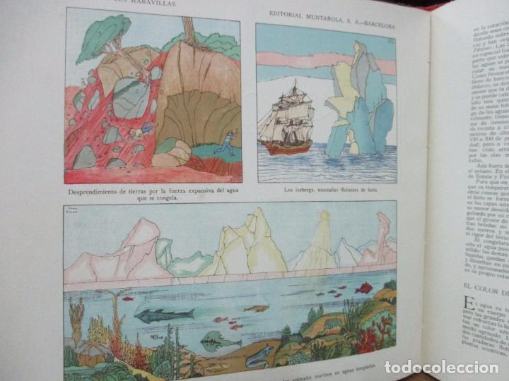 Libros antiguos: EL AGUA Y SUS MARAVILLAS. JAVIER OLÓNDRIZ. ILUSTR. JOAN D'IVORI. MUNTAÑOLA. 1920 - Foto 10 - 94056115