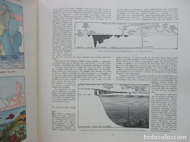 Libros antiguos: EL AGUA Y SUS MARAVILLAS. JAVIER OLÓNDRIZ. ILUSTR. JOAN D'IVORI. MUNTAÑOLA. 1920 - Foto 11 - 94056115