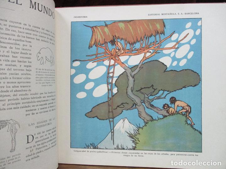 Libros antiguos: EL AMANECER DEL MUNDO. CARLOS RIBA. ILUSTR. SERRA. MUNTAÑOLA, 1920. - Foto 4 - 94119315