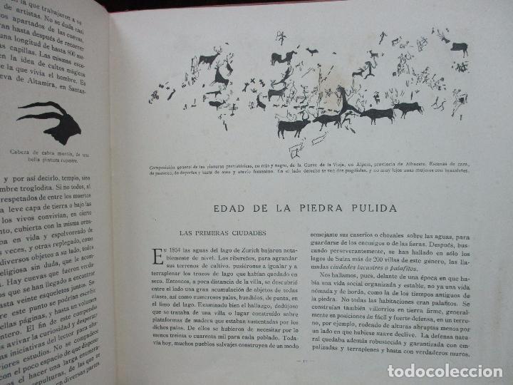 Libros antiguos: EL AMANECER DEL MUNDO. CARLOS RIBA. ILUSTR. SERRA. MUNTAÑOLA, 1920. - Foto 7 - 94119315