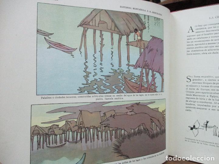 Libros antiguos: EL AMANECER DEL MUNDO. CARLOS RIBA. ILUSTR. SERRA. MUNTAÑOLA, 1920. - Foto 8 - 94119315