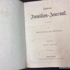 Libros antiguos: LLUSTRIRTES FAMILIEN - JOURNAL, 1863, GRABADOS, CUENTOS, HISTORIA, LITERATURA, ETC.. EN SUBASTA EXTR. Lote 94149970
