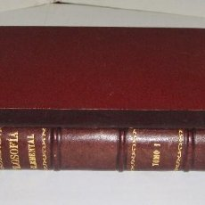 Libros antiguos: FILOSOFÍA ELEMENTAL. ZEFERINO GONZALEZ. TOMO I. 1886. Lote 94170135