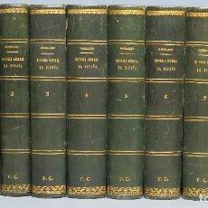 Libros antiguos: HISTORIA GENERAL DE ESPAÑA Y SUS INDIAS. VICTOR GEBHARDT. 7 TOMOS. COMPLETA. ILUSTRADO. MAPAS. Lote 94177645