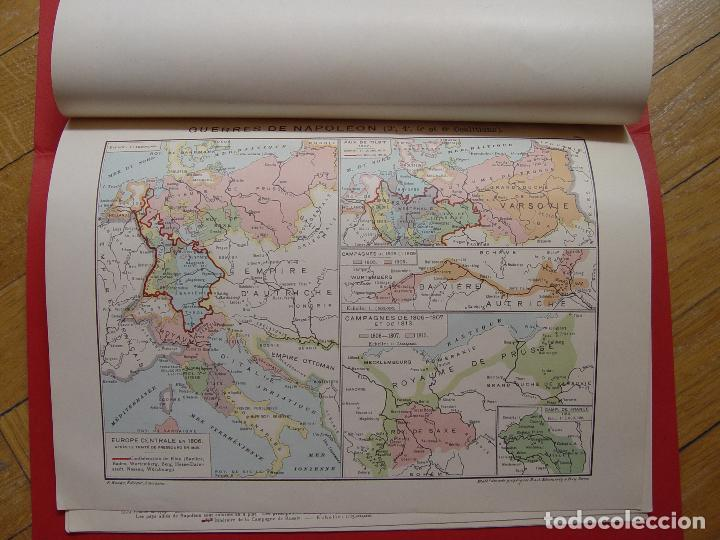 Libros antiguos: ATLAS GEOGRAPHIE HISTORIQUE (Poirier, 1906) Historia Moderna ¡ORIGINAL! ¡RARO! - Foto 7 - 94193730
