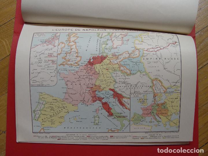 Libros antiguos: ATLAS GEOGRAPHIE HISTORIQUE (Poirier, 1906) Historia Moderna ¡ORIGINAL! ¡RARO! - Foto 8 - 94193730