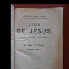 Libros antiguos: VIDA DE JESÚS. ERNESTO RENAN. Lote 94245230