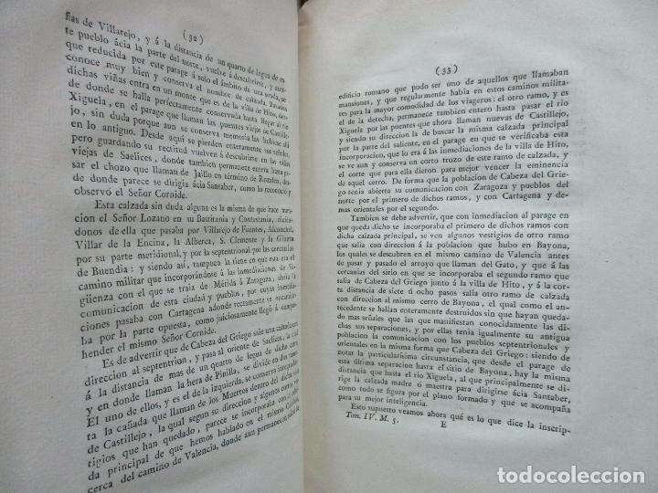 Libros antiguos: IMPUGNACIÓN AL PAPEL QUE CON TÍTULO DE MUNDA Y CÉRTIMA..(MEMORIAS DE LA REAL ACADEMIA DE LA Hª) 1802 - Foto 5 - 94249195