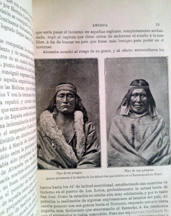 Libros antiguos: AMERICA. HISTORIA DE SU DESCUBRIMIENTO DESDE LOS TIEMPOS PRIMITIVOS HASTA LOS MAS MODERNOS. año-1892 - Foto 10 - 94267955