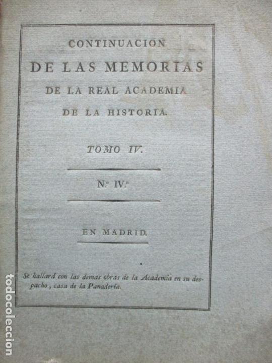 Libros antiguos: NUEVA DEMOSTRACION SOBRE LA FALSEDAD DEL PRIVILEGIO DEL REY D. RAMIRO I. c. 1800. - Foto 2 - 178859483