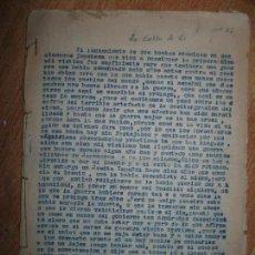 Libros antiguos: LA FALTA DE FÉ LIBRO RELIGIOSO INEDITO ORIGINAL DE CARLOS HERRERO SOBRE 2º GUERRA MUNDIAL ATOMICA. Lote 94421598