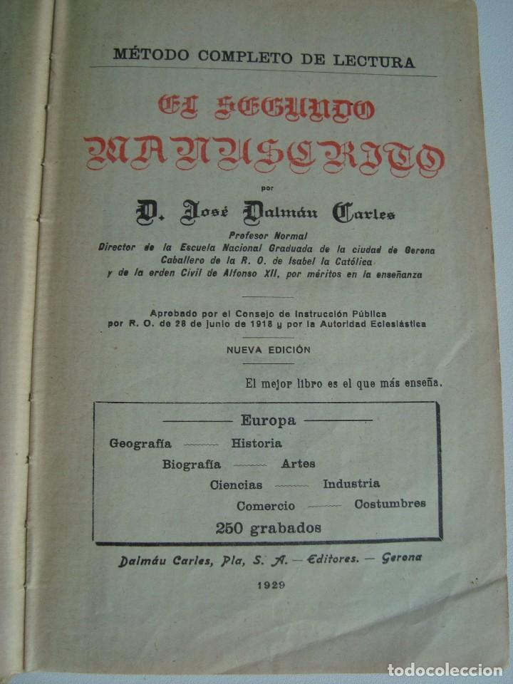 Libros antiguos: EUROPA - JOSÉ DALMÁU CARLES - 1929 - Foto 3 - 94494326