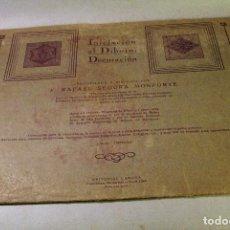 Libros antiguos: INICIACIÓN AL DIBUJO. DECORACION. 1932. 3ER FASCÍCULO. 12 LÁMINAS.. Lote 94587939
