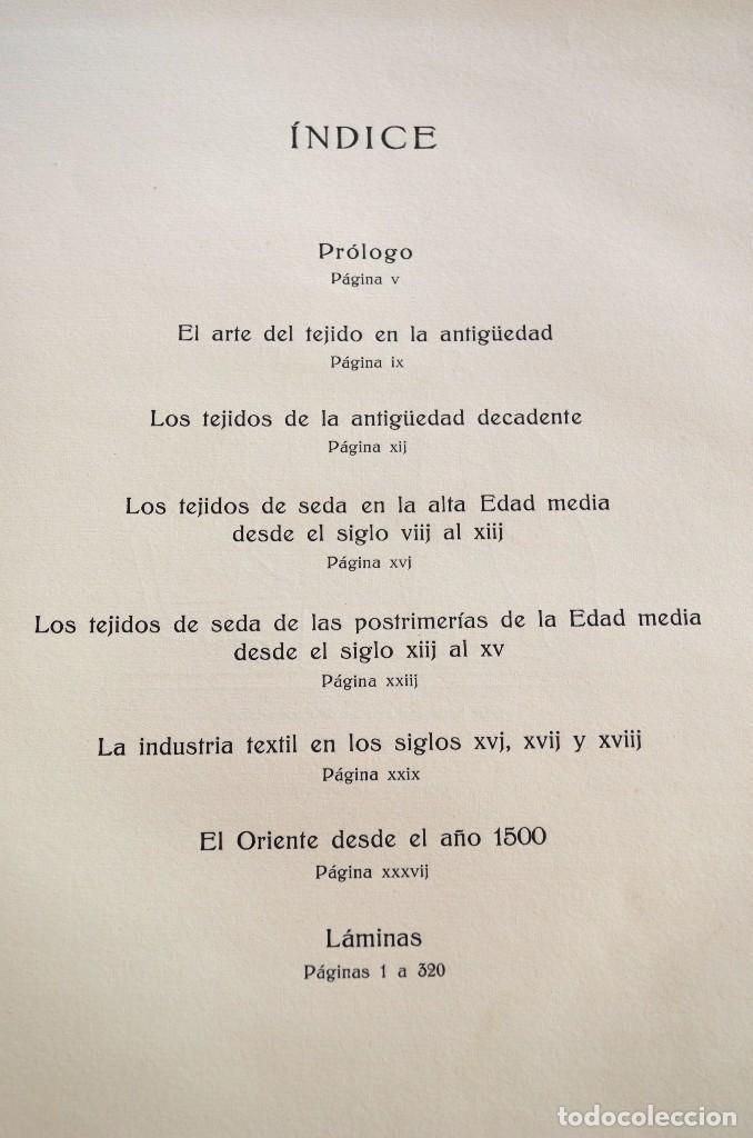 Libros antiguos: Ernst Flemming TEJIDOS ARTÍSTICOS Gustavo Gili - Foto 3 - 94603227