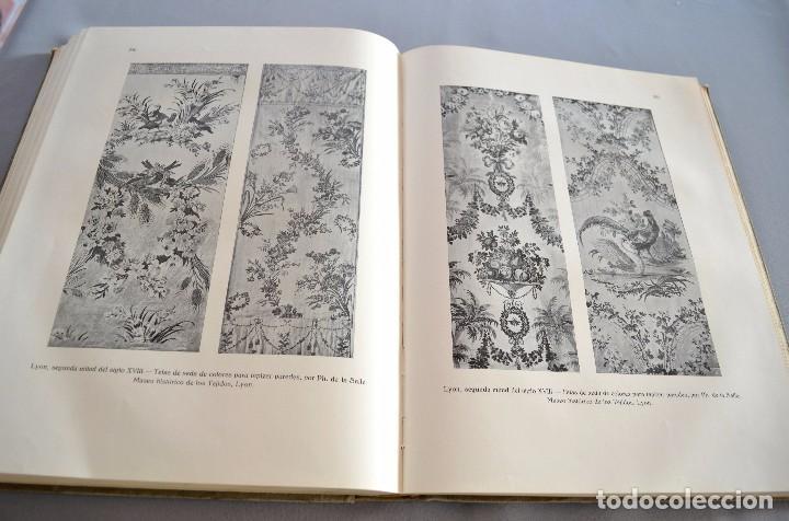 Libros antiguos: Ernst Flemming TEJIDOS ARTÍSTICOS Gustavo Gili - Foto 5 - 94603227