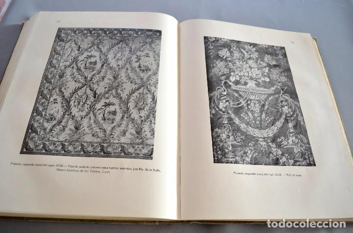 Libros antiguos: Ernst Flemming TEJIDOS ARTÍSTICOS Gustavo Gili - Foto 6 - 94603227
