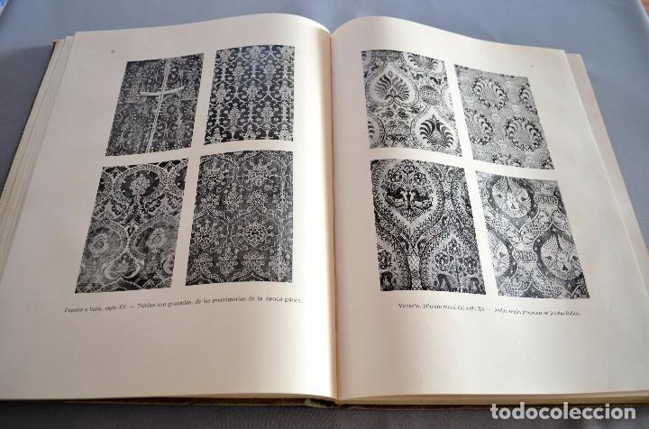 Libros antiguos: Ernst Flemming TEJIDOS ARTÍSTICOS Gustavo Gili - Foto 11 - 94603227