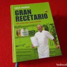 Libros antiguos: GRAN RECETARIO 2001 RECETAS - KARLOS ARGUIÑANO - SIN USAR. Lote 94604335