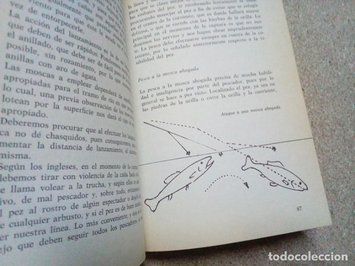 Libros antiguos: COMO SE PESCA EN EL RIO, INTERESANTE Y COMPLETO LIBRO. 1980 - Foto 3 - 94617615