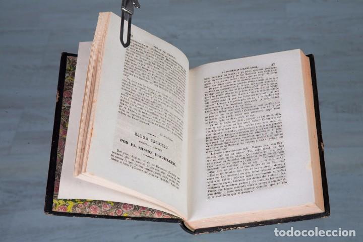 Libros antiguos: FÍGARO OBRAS COMPLETAS - MARIANO JOSÉ DE LARRA - TOMO 1 - MADRID 1843 - Foto 2 - 94641915