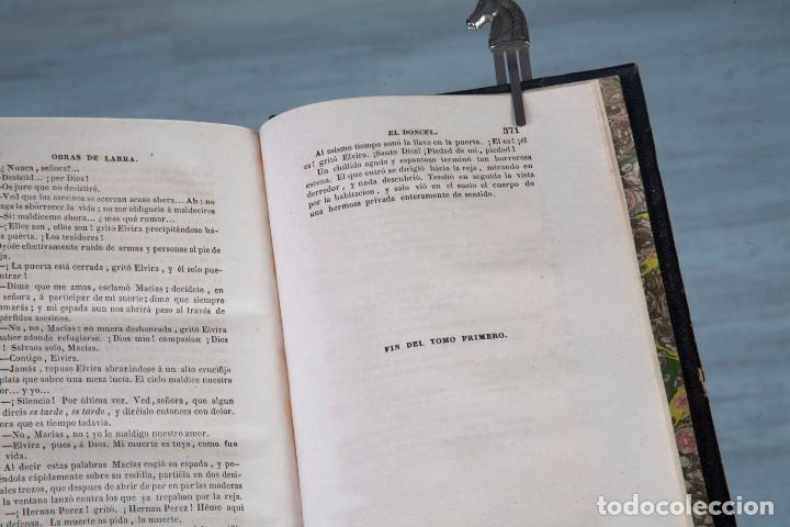 Libros antiguos: FÍGARO OBRAS COMPLETAS - MARIANO JOSÉ DE LARRA - TOMO 1 - MADRID 1843 - Foto 3 - 94641915
