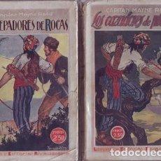 Libros antiguos: MAYNE-REID, CAPITÁN: LOS CAZADORES DE PLANTAS. LOS TREPADORES DE ROCAS.MADRID,RIVADENEYRA1922. Lote 94679491